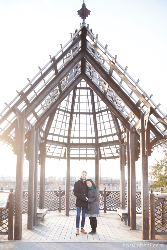 Monica and Cory's Philadelphia Art Museum Engagement | Nassimbeni Photography