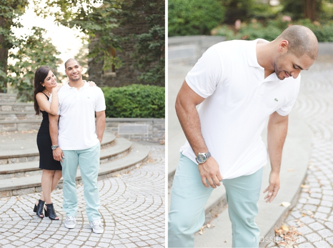 Stylish Villanova University engagement photos by Treasure Coast Wedding Photographer Nassimbeni Photography