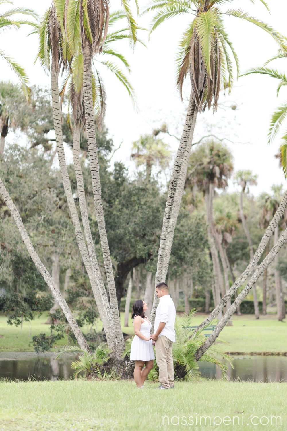 White City Park engagement photos by Treasure Coast Photographer, Nassimbeni Photography