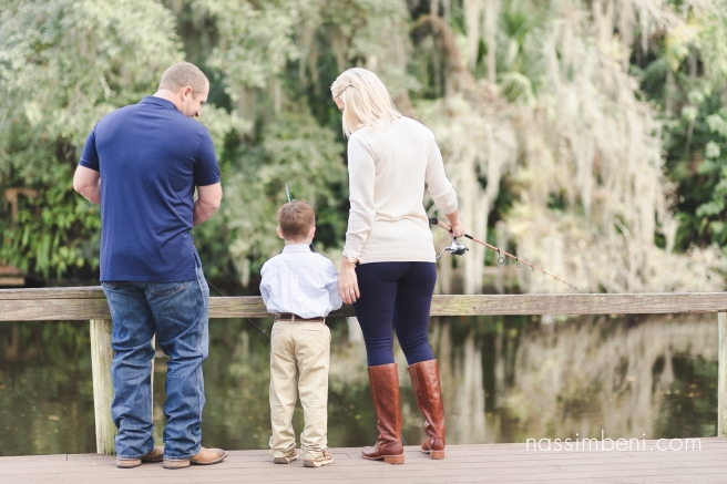 Fishing themed engagement photos at White City Park in Ft Pierce taken by Treasure Coast Wedding Photographer Nassimbeni photography