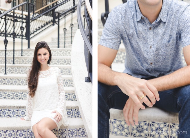 Worth avenue engagement photos by Treasure Coast photographer Nassimbeni Photography
