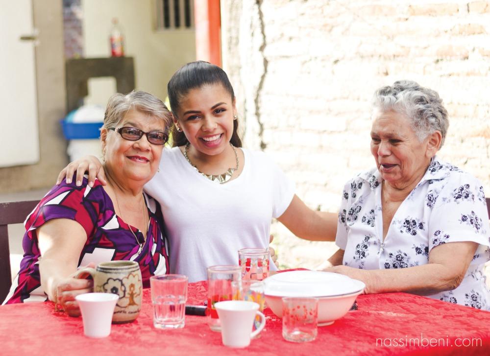 both grandmas in esteli nicaragua