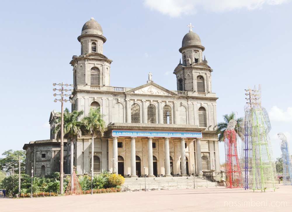 old cathedral of managua nicaragua taken by nassimbeni photography