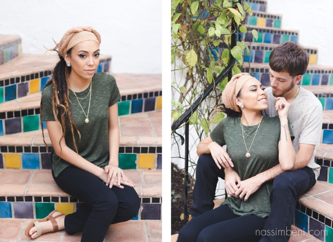 worth avenue engagement session by nassimbeni photography