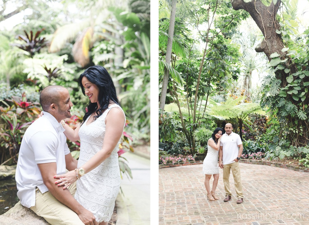 Sunken gardens | St Petersburg | Engagement Session | Nassimbeni Photography