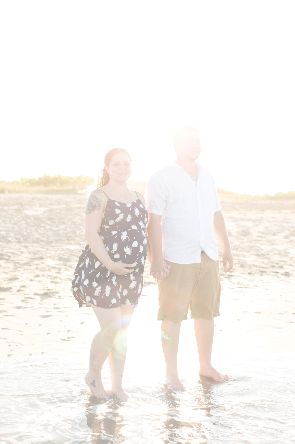 glowing maternity session by nassimbeni photography in stuart florida