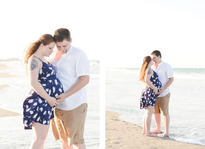 sunset maternity photos by nassimbeni photogrpahy in stuart florida