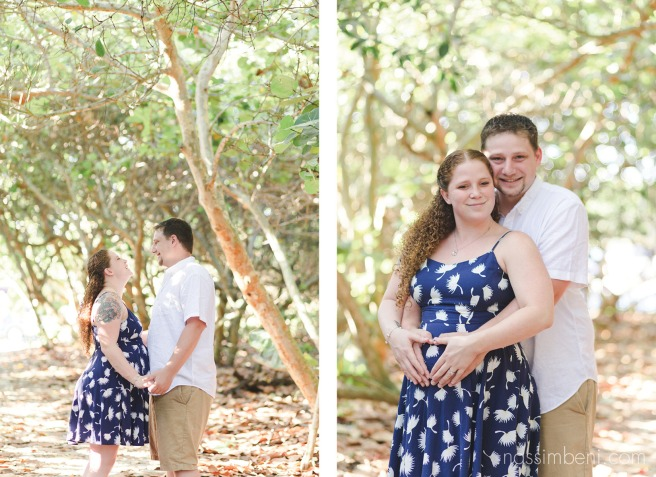 maternity session in the hidden path to bob graham beach by nassimbeni photography