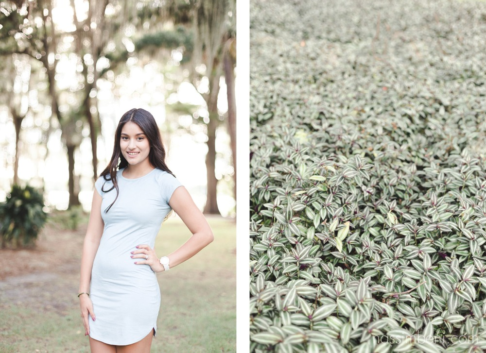 soon to be bride at the kraft azalea gardens in winter park by nassimbeni photography
