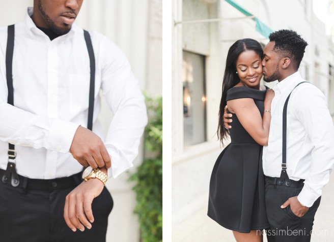 worth avenue engagement session in palm beach florida by nassimbeni photography
