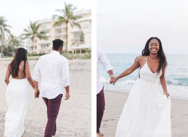 worth avenue engagement session by the beach by nassimbeni photography