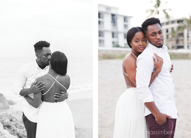 palm beach engagement session near worth avenue by nassimbeni photography