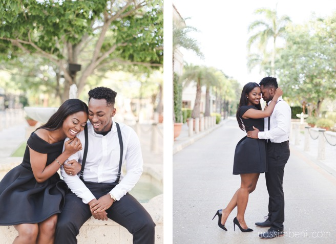 Worth Avenue Engagement photos for a classy couple by nassimbeni photography