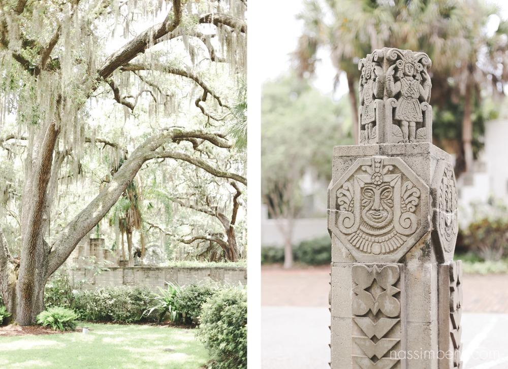 maitland art center entrance and large oak by nassimbeni photography