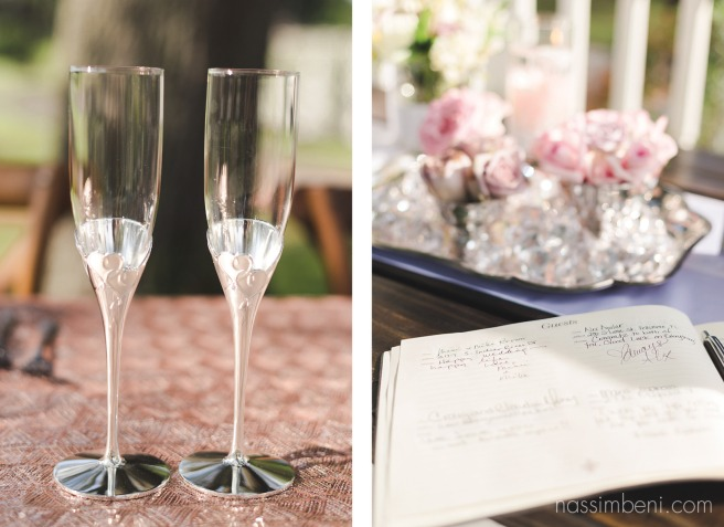 guest book at bellewood plantation wedding by nassimbeni photography