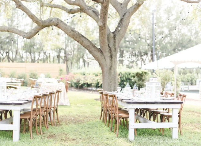 bellewood plantation reception set up in the backyard by nassimbeni photography