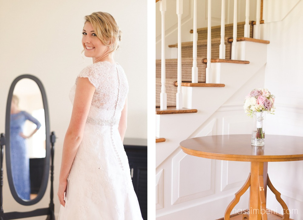 staircase in bellewood plantation wedding venue in vero beach florida by wedding photographer nassimbeni photography