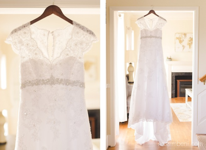 bellewood plantation wedding venue in vero beach florida and brides davids bridal dress hangs by nassimbeni photography