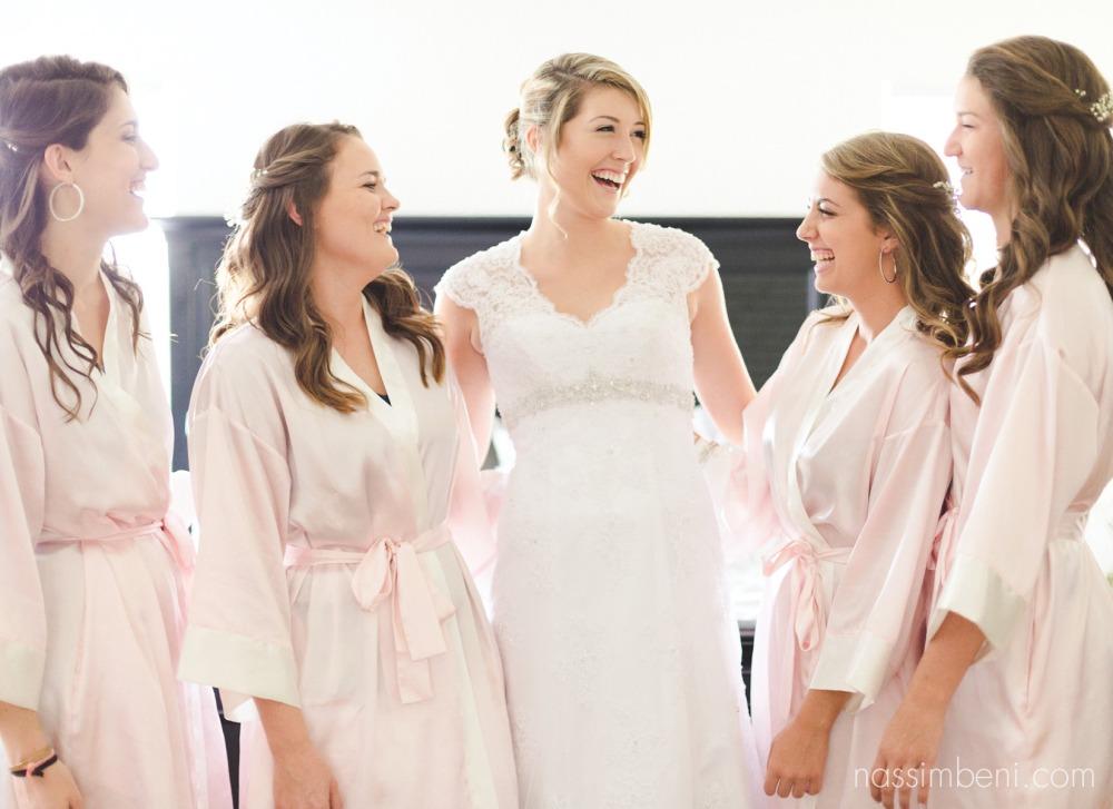 bridesmaids at bellewood wedding plantation by nassimbeni photography