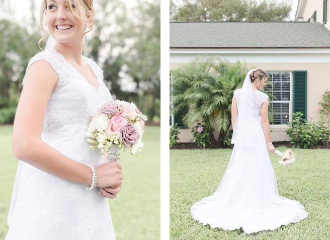 bridal portraits in front of bellewood plantation house in vero beach florida by nassimbeni photography