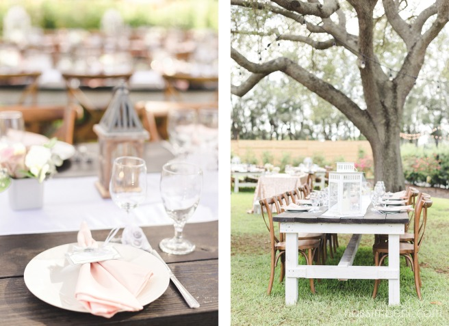 guests table set up at bellewood plantation in vero beach florida by nassimbeni photography