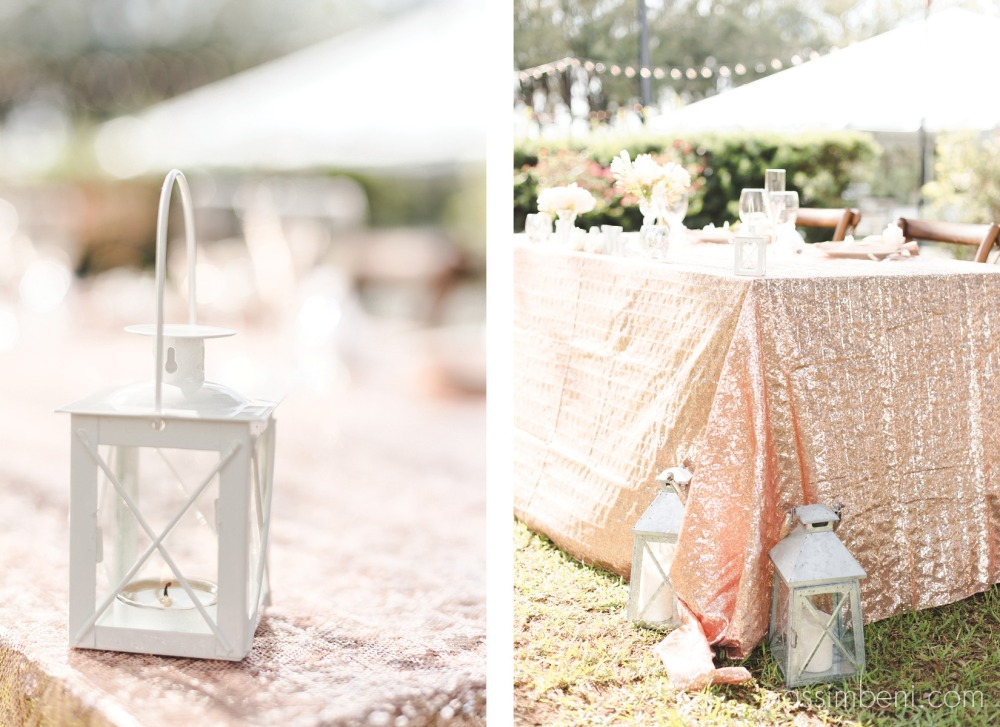 pink table for bride and groom at bellewood plantation wedding by nassimbeni photography
