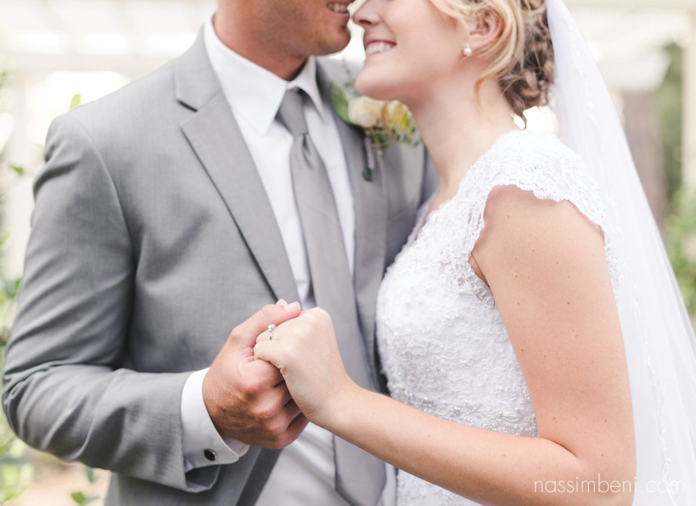 bride and groom close up at bellewood plantation wedding by nassimbeni photography