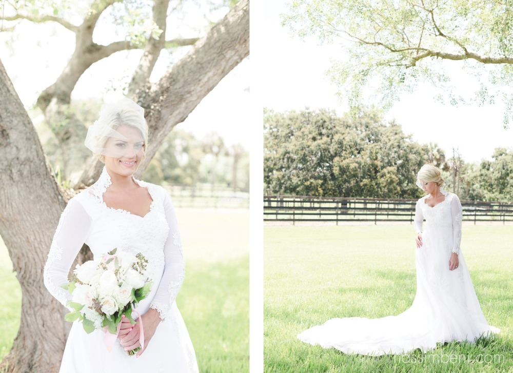 brides gown was her mothers wedding dress in the 80s by nassimbeni photography
