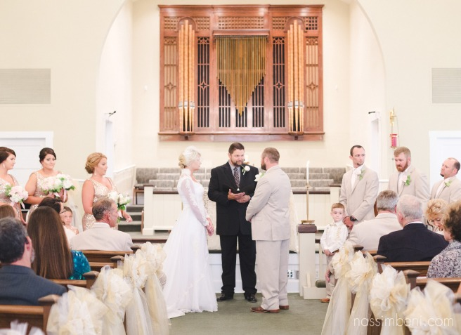 first united methodist church in okeechobee florida wedding ceremony by nassimbeni photography