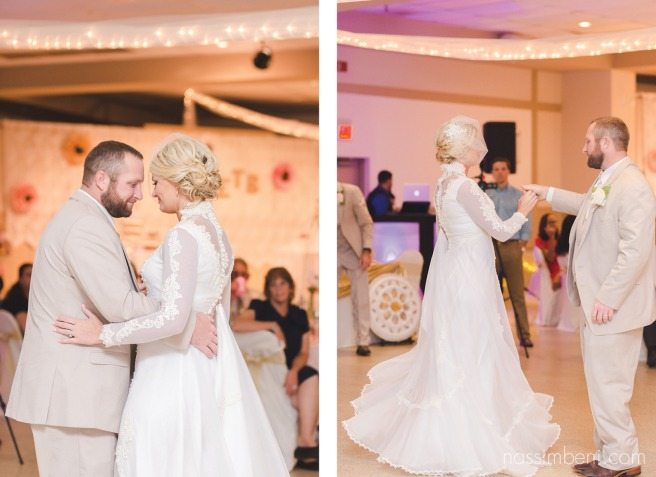first dance at koa convention center in okeechobee florida by nassimbeni photography