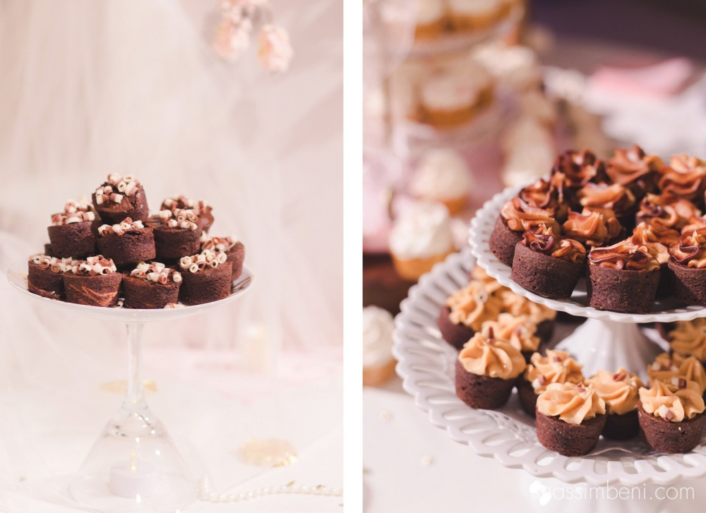 brownie bites at the sweets table at koa convention center in okeechobee by nassimbeni photography