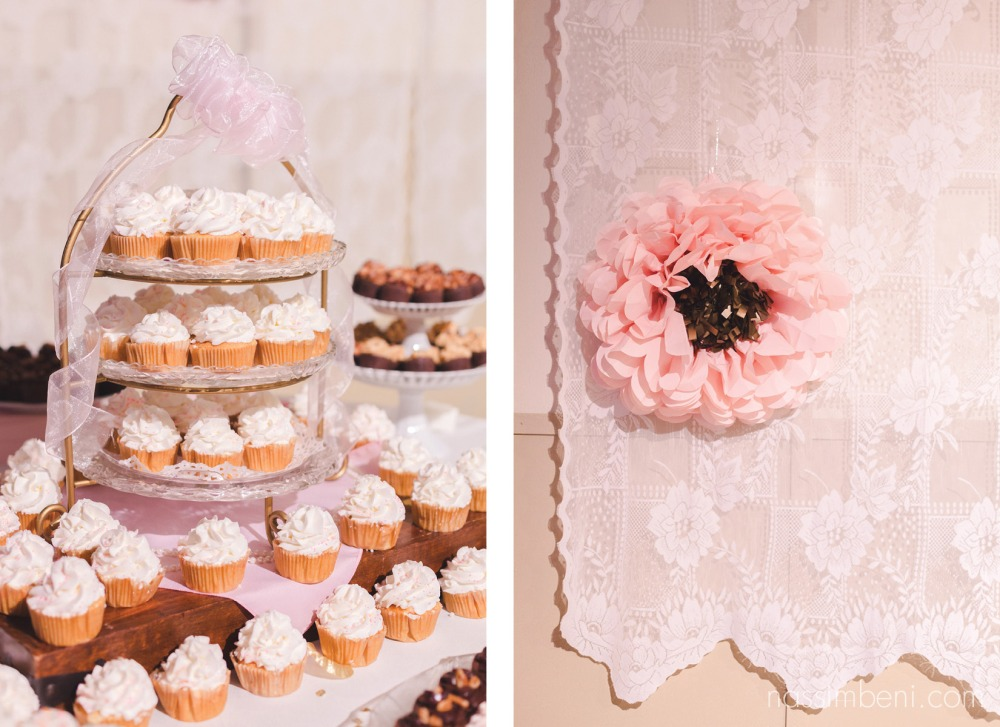 cupcakes at the koa convention center wedding in okeechobee by nassimbeni photography
