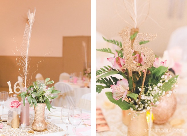 centerpieces at the koa convention center by nassimbeni photography
