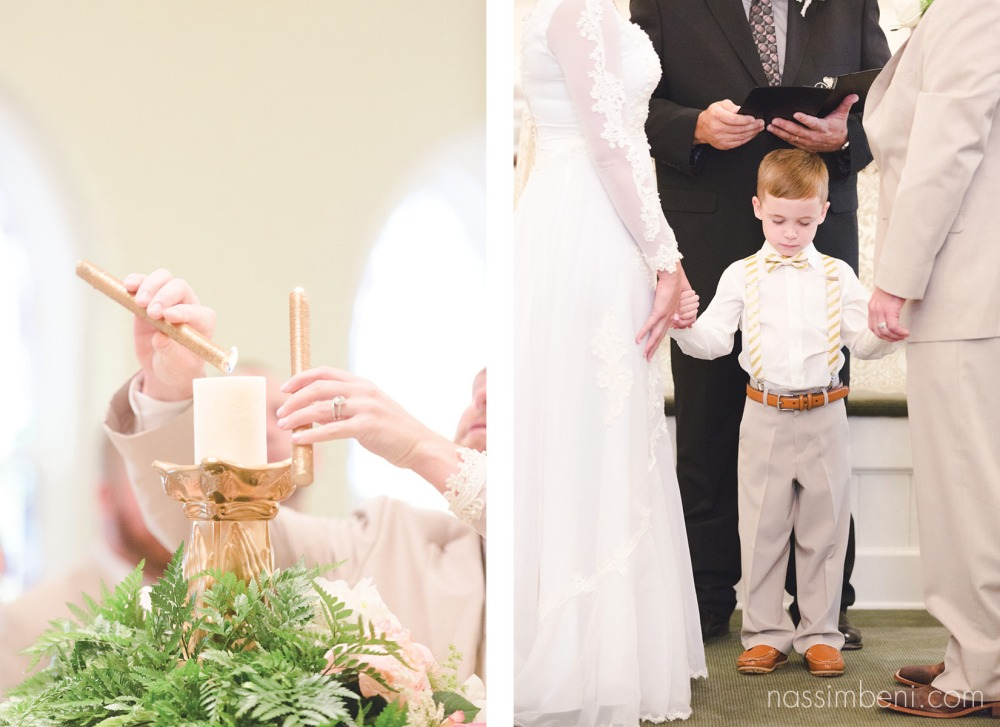 prayer moment and lighting of candle at first united methodist church of okeechobee florida by nassimbeni photography