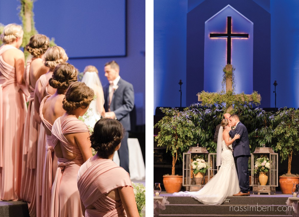 first kiss as husband and wife by nassimbeni photography