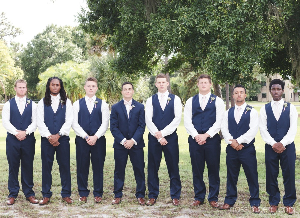 well groomed groomsmen by nassimbeni photography in melbourne florida