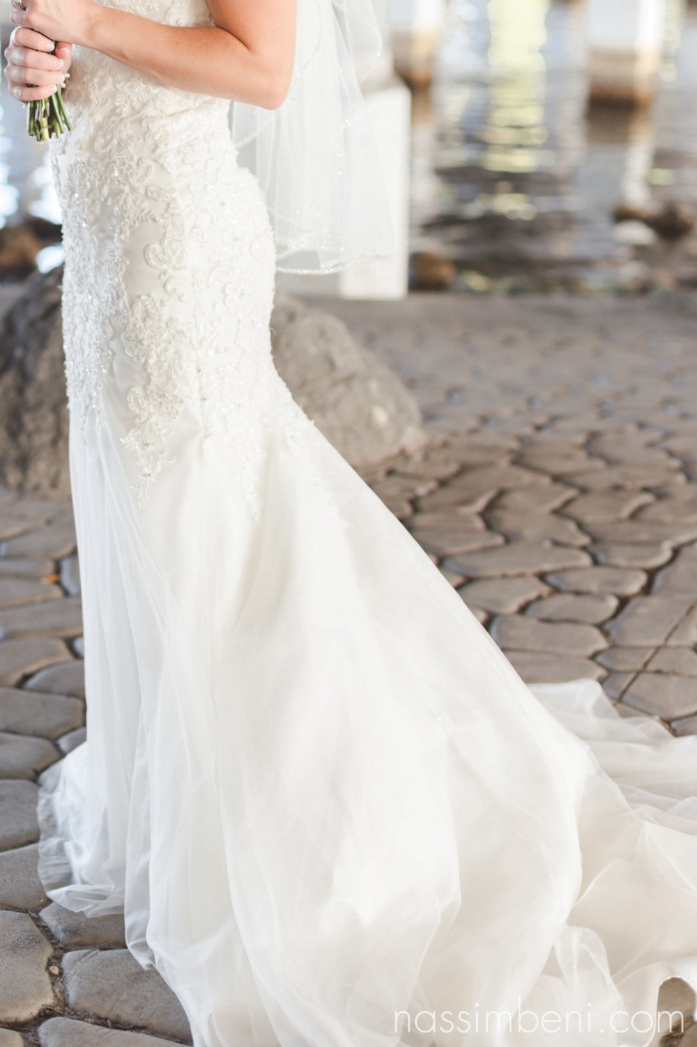 aurora unique bridal boutique wedding gown at crane creek promenade park by nassimbeni photography