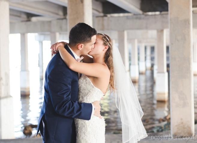 melbourne florida navy blue wedding by nassimbeni photography