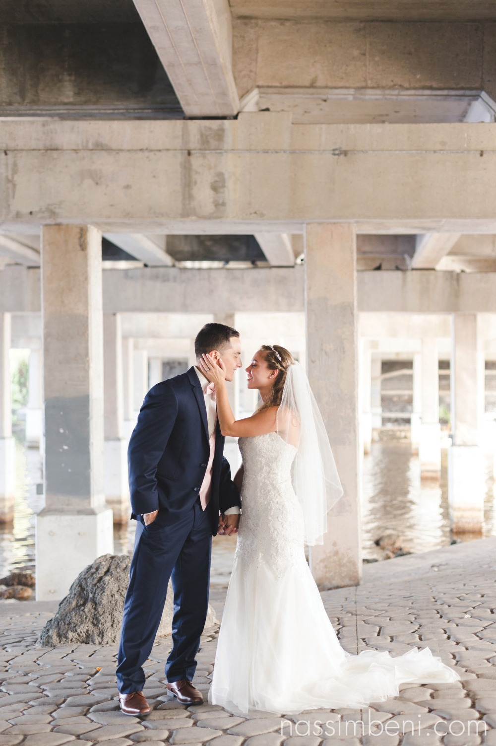 bride and groom formal photos at crane creek promenade park by nassimbeni photography