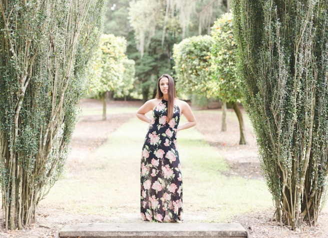 sweet 16 portrait session at bok tower gardens by nassimbeni photography