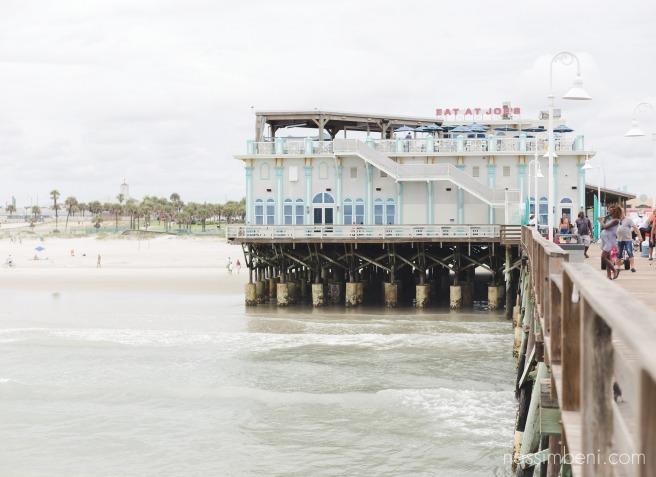 Daytona beach pier by nassimbeni photography