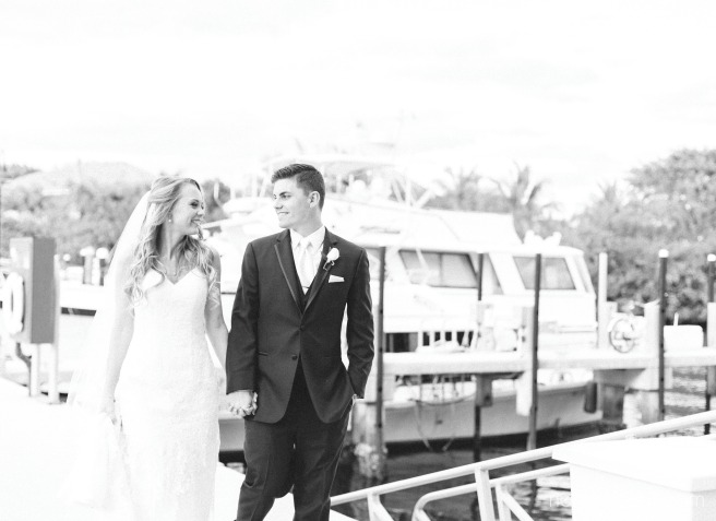 out of the blue wedding on the docks by nassimbeni photography