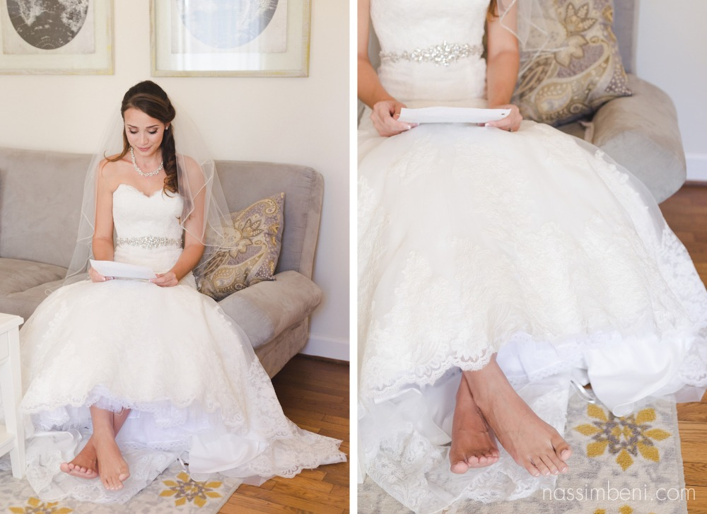 barefoot bride at bellewood plantation wedding venue in vero beach florida by Nassimbeni Photography