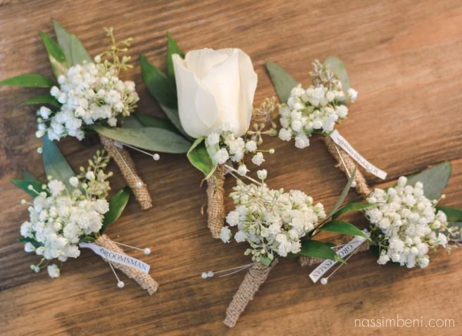 boutonniere shot by sabrina henley of s&s henley photography