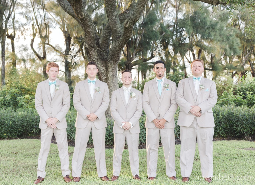 groom and his groomsmen at bellewood plantation by Nassimbeni Photography