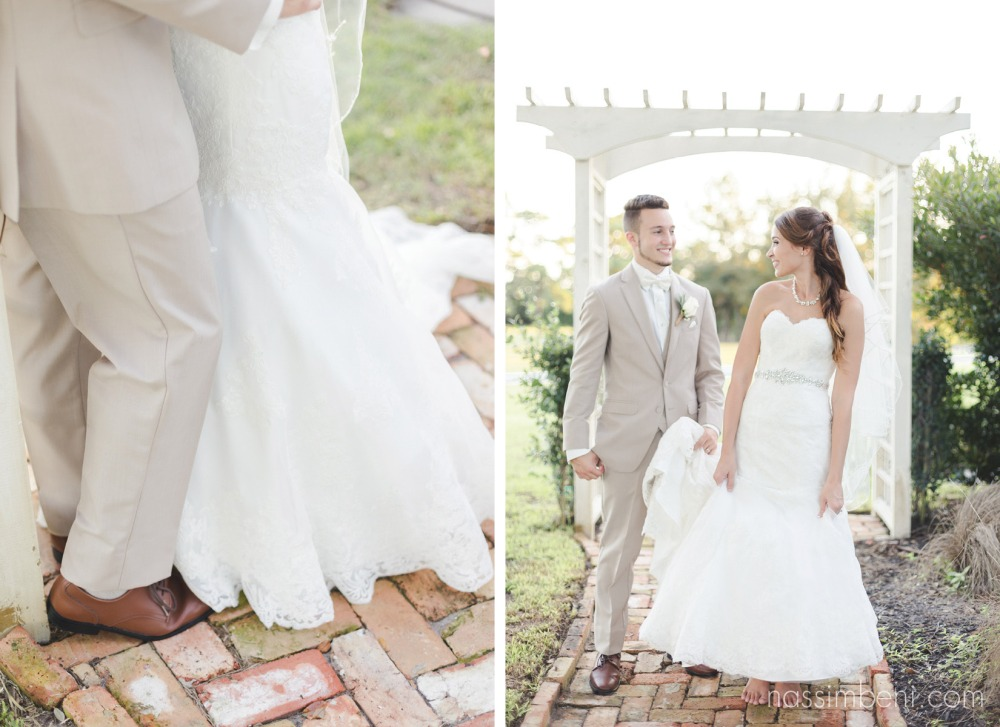 barefoot bride at bellewood plantation by Nassimbeni Photography