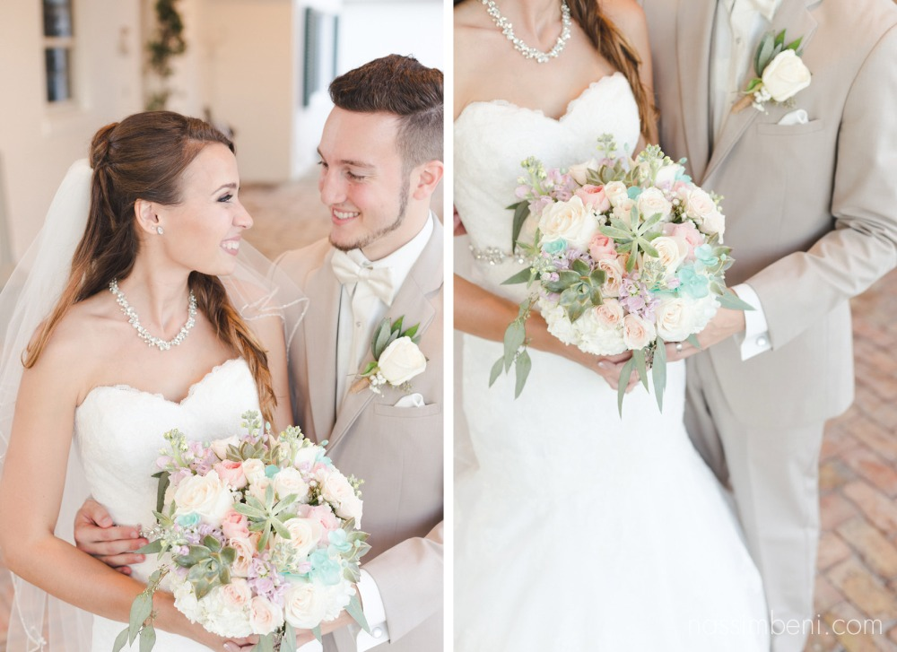 elegant bride and groom at bellewood plantation venue by Nassimbeni Photography
