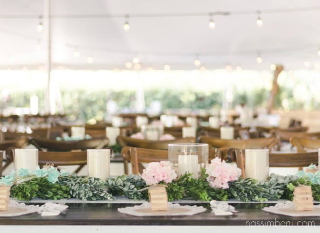 tent reception at bellewood plantation by Nassimbeni Photography