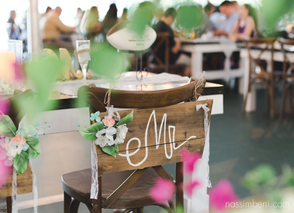 mr an mrs signs at bellewood plantation by Nassimbeni Photography