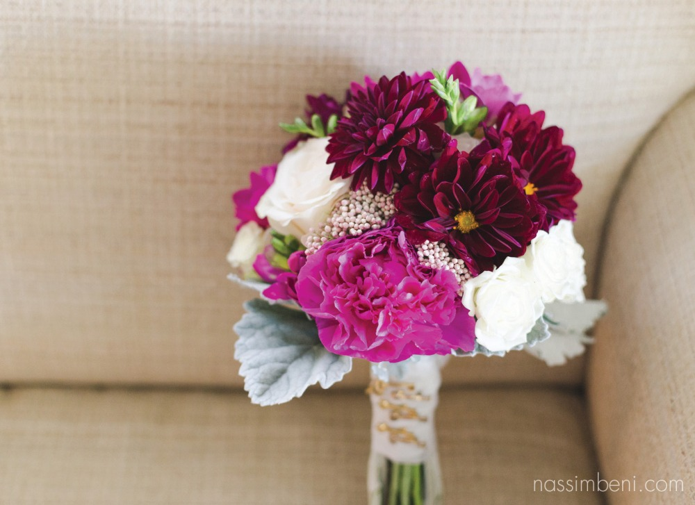 Nassimbeni Photography photo of vero beach brides country club florals bouquet
